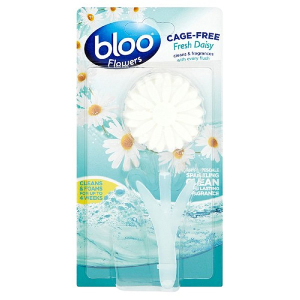 Bloo Flowers Cage Free Toilet Block Fresh Daisy - 34 g