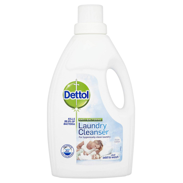Dettol Anti Bacterial Laundry Cleansers 1 Ltr Cotton Fresh