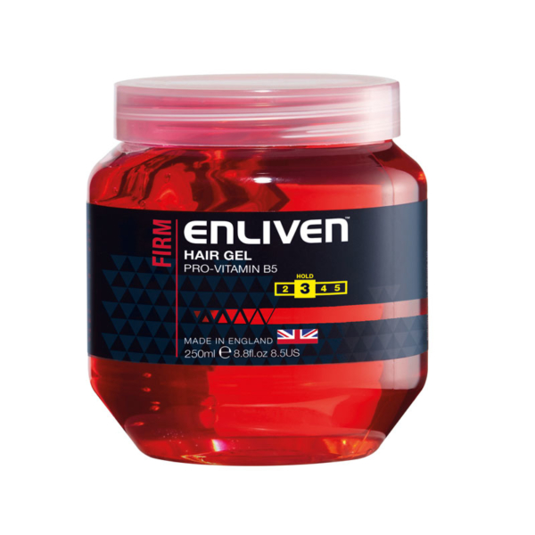 Enliven Hair Gel Firm 250ml -Red