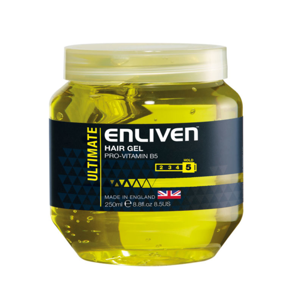 Enliven Hair Gel Ultimate 250ml -Yellow