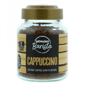 Beanies Barista Cappuccino Instant Coffee 50g 1