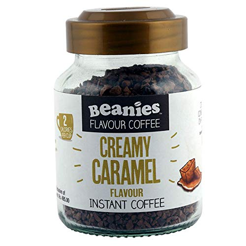 Beanies The Flavour Co Flavoured Instant Creamy Caramel 50g