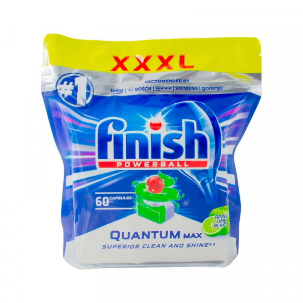 Finish Apple Lime Blast with 60 Tablets