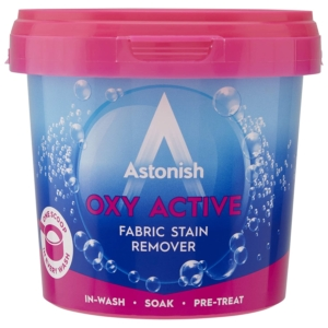 astonish oxy active plus fabric stain remover