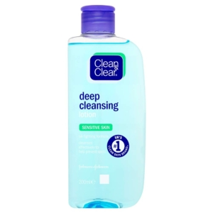 clean and clear deep cleansing lotion